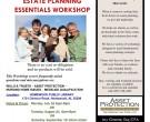 Estate Planning Workshops Summer 2012